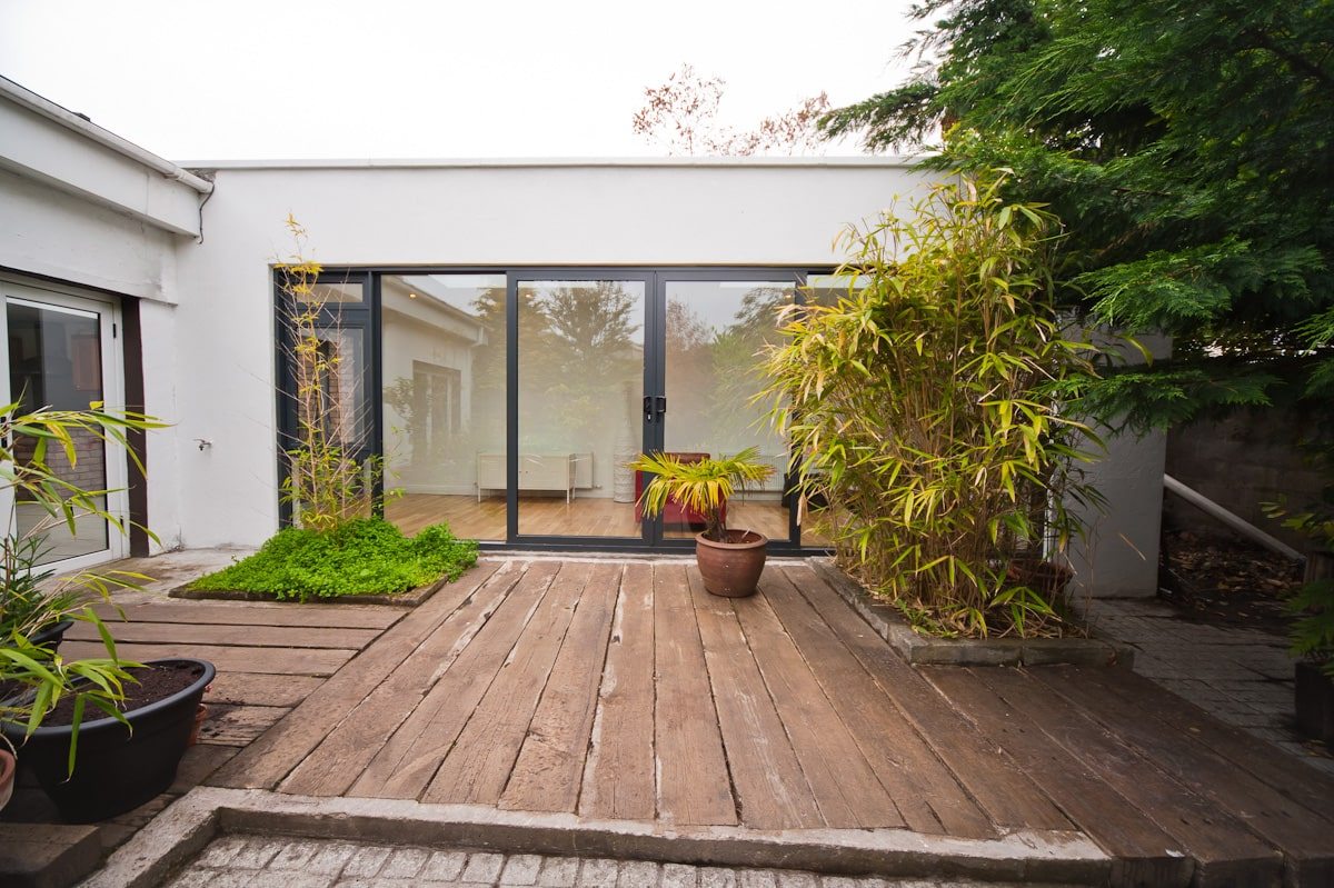 Bright room facing the garden