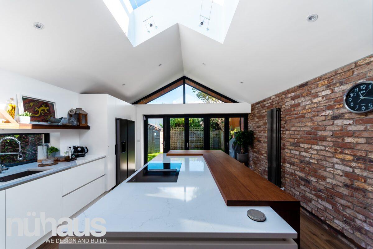 New open plan kitchen