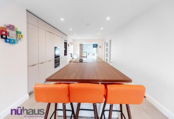 New open plan kitchen space